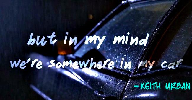 Somewhere in My Car - slider