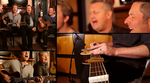 Rascal Flatts Jams A Little Backstage At The Tonight Show