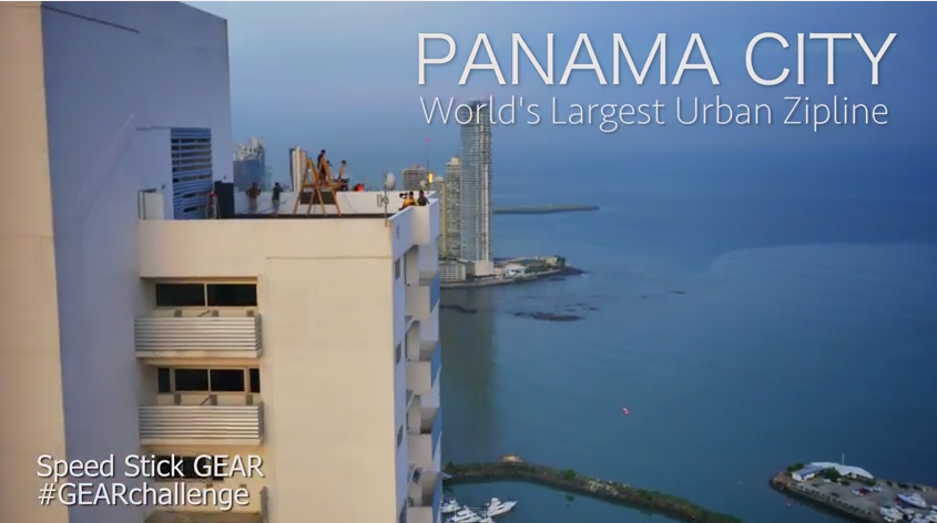World S Largest Urban Zipline Panama City
