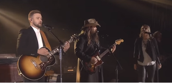 Chris stapleton and justin timberlake clear 99 today 39 s for Tennessee whiskey justin timberlake