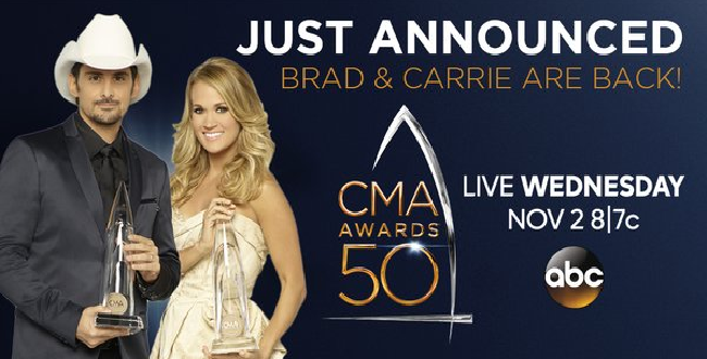 Brad and Carrie CMA