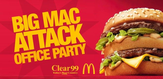 Clear 99s Big Mac Attack Office Party