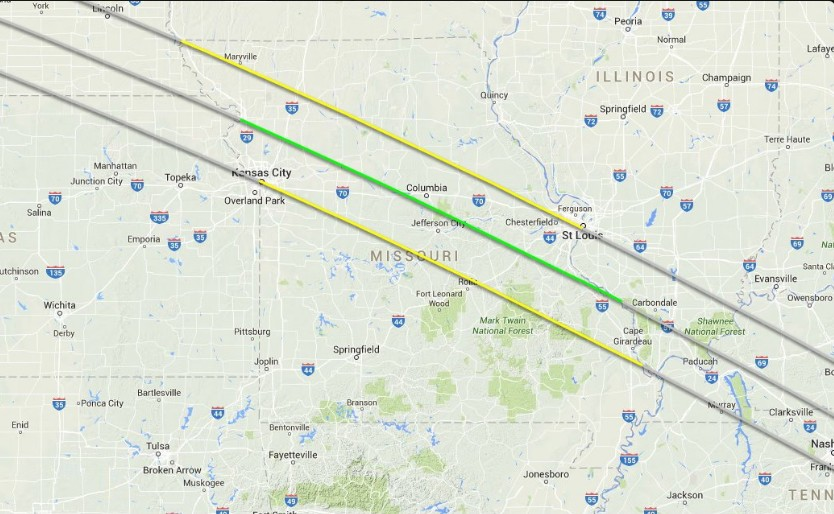 Solar Eclipse 2017 Mid Missouri Clear 99 Today S Best Country