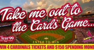 Take me out to the Card's game
