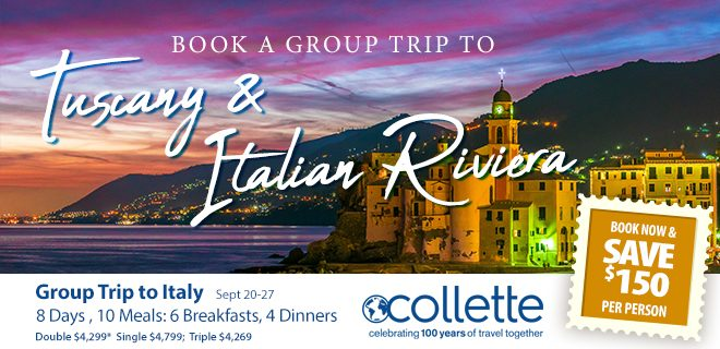 Experience Tuscany And The Italian Riviera With Clear 99
