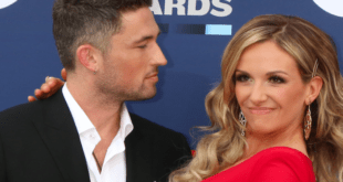 carly pearce and michael ray on red carpet