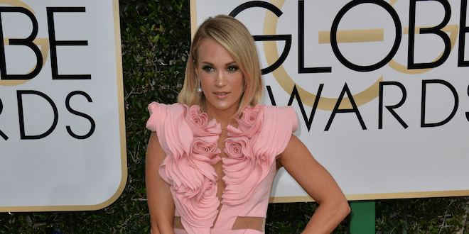 Carrie Underwood Released An App And Workout Nutrition Manual
