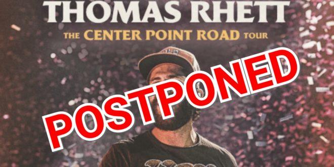 Thomas Rhett Tour Postponed Clear 99 Today S Best Country