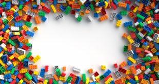 Colored toy bricks