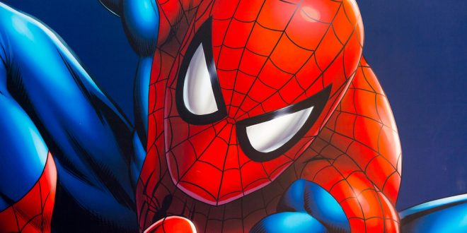 illustrated Spider-man