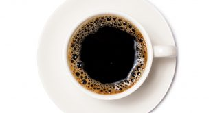 black coffee in a coffee cup