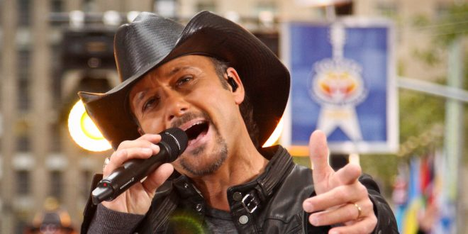 Tim McGraw Singing
